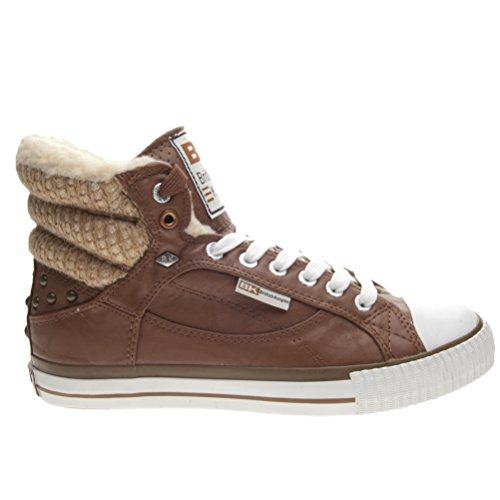 Baskets Atoll British marron Knights marron femme 0 pour 2 w1PI7Sq