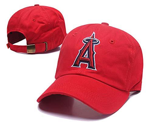 JOE JOURNEYMAN MLB Team Los Angeles Angels Classic Logo Adjustable Flex Hat Baseball Cap (Los Angeles Angels/, One Size)