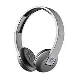 Skullcandy Uproar Bluetooth Wireless On-ear Headphones With Built-in Microphone & Remote, 10-hour Rechargeable Battery, Soft Synthetic Leather Ear Pillows For Comfort, Gray Fade