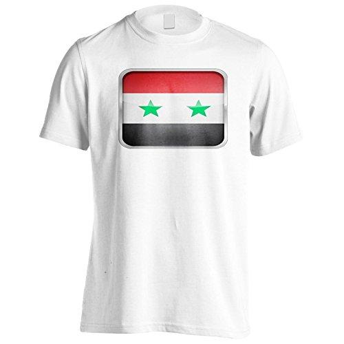 Neue Syrien Flagge Schöne Form Herren T-Shirt l944m