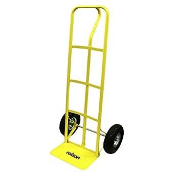 Rolson 42512 - Carretilla de mano (hasta 180 kg, ruedas de 25,5