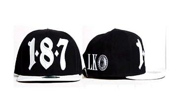 Last Kings Snapback 2013 - Gorra con diseño 187, color negro con ...
