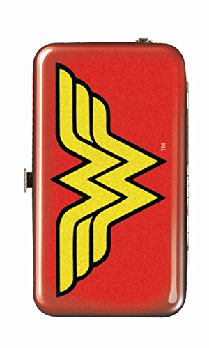 Spoontiques Wallet Case for iPhone 4; iPhone 5; iPhone 5S, iPhone 6; Samsung Galaxy S5 - Wonder Woman Logo Phone Wristlet
