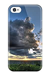 4/4s Scratch-proof Protection Case Cover For Iphone/ Hot Sky Earth Nature Sky Phone Case