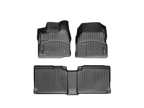 Equinox Weathertech Floor - Weathertech 443461-442712 DigitalFit Floorliner Set