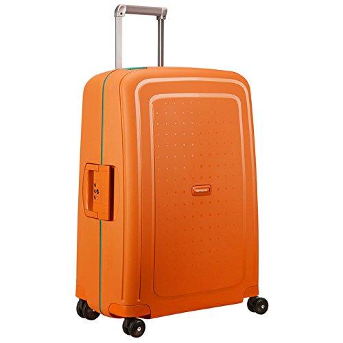 Samsonite Valigia S'Cure Spinner 69/25, 69 cm, 87.5 litri, Orange / Cielo