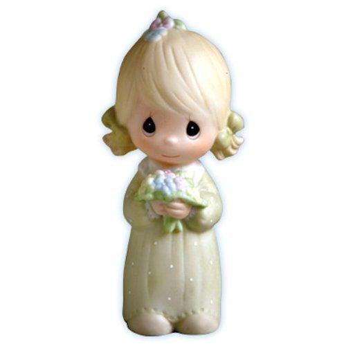 Wedding Favors Moments Precious (Precious Moments Wedding Bridesmaid Gifts Junior Bridesmaid Figurine E-2845)