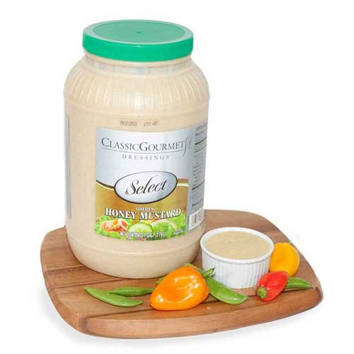 Ventura Foods Classic Gourmet Select Golden Honey Mustard Salad Dressing, 1 Gallon -- 4 per case. by Ventura Foods