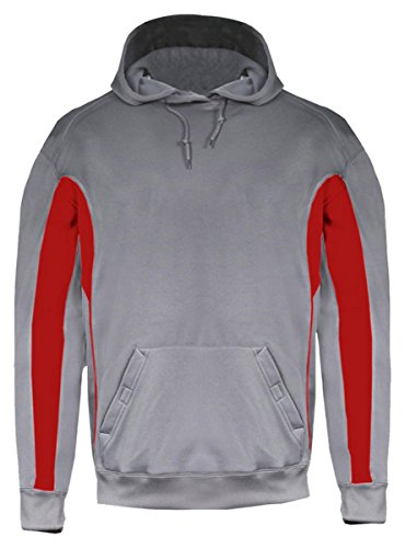 - Badger 1465 - Drive Polyester Fleece Hooded Pullover