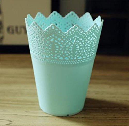 lumanuby 1 pieza Macetero plástico plástico macetas para flores Arrangement para casa boda hotel Oficina Decoración o - Cesta O Soporte para pinceles de ...