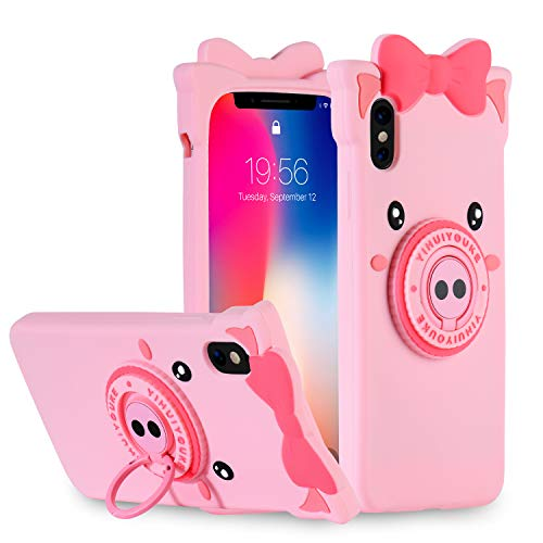Kickstand Pig Case for iPhone Xs Max 6.5