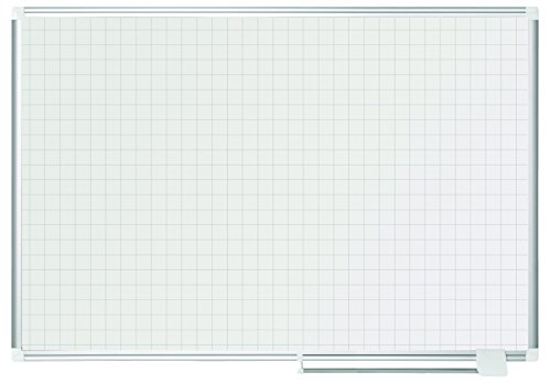 BVCMA0547830 - MasterVision 1x1 Grid Magnetic Gold Ultra Planning Board by MasterVision