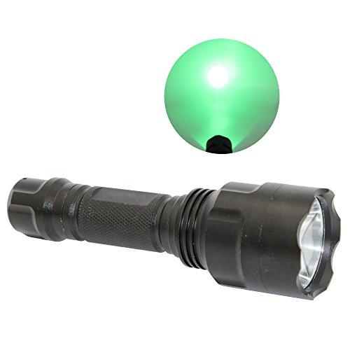 Super Bright Green Light Flashlight, KC Fire 350 Lumens R...
