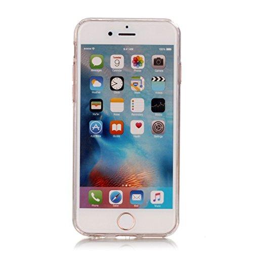 Coque Pour Apple iPhone 6 6S 4.7'',Remidy Dreamcatcher pink Souple transparent TPU Gel Silione Protection Téléphone Housse Étui Pour Apple iPhone 6 6S 4.7'' + A Verre Trempé Protection écran film