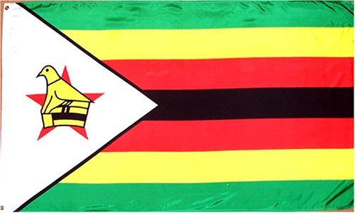 Zimbabwe National Country Flag - 3 foot by 5 foot Polyester (New)