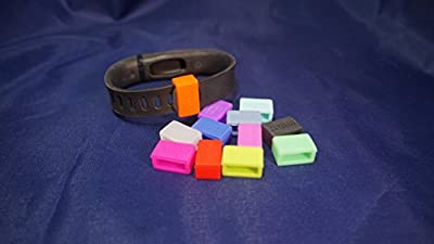 Bitbelt Jr (small width) 12 pack (one of every color, 3 that glow in the dark!) Protect your Fitbit Alta, Flex, Amiigo, Striiv, Garmin Vivosmart, Misfit, or Disney MagicBand (kids size) with Bitbelt. We invented the secondary safety clasp.