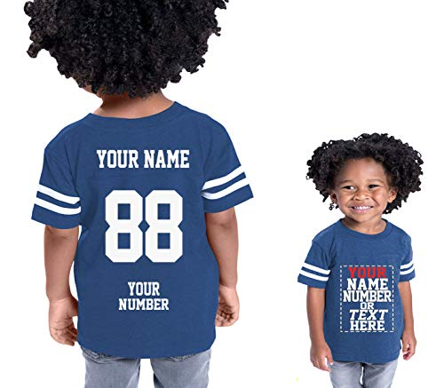 Custom Cotton Jerseys for Toddlers and Kids - Make Your OWN Casual Outfit -