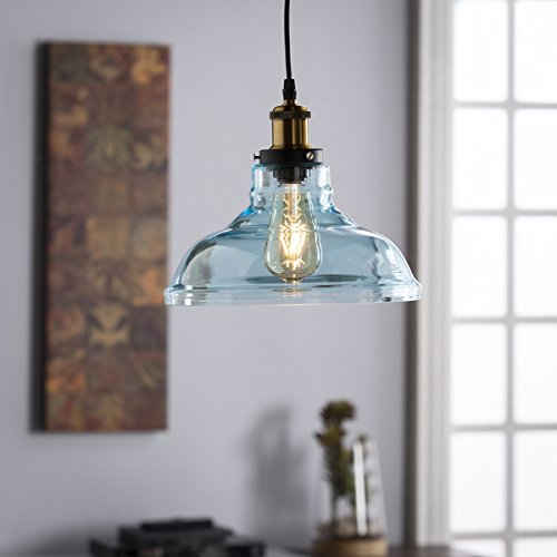 Aqua Glass Pendant Light in Florida - 4