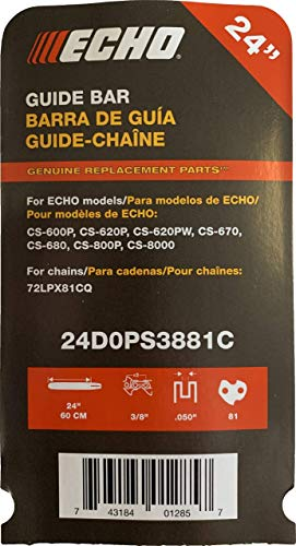 Echo 24D0PS3881C Chainsaw Bar 24'' by Echo (Image #2)