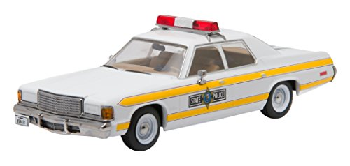 GreenLight Collectibles 1980 Blues Brothers 1977 Dodge Royal Monaco Illinois State Police Vehicle (1:43 Scale)
