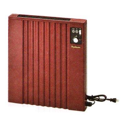 トヨトミ 壁掛け電気パネルヒーター コンセント付 過熱防止サーモスタット内蔵 消費電力:500W レッド 日本製 EL-500P-R B017QXSSJS