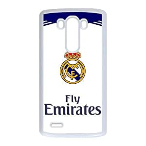 Personalized Durable Cases LG G3 Cell Phone Case White Real Madrid Vodqb Protection Cover