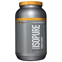 Isopure Zero Carb Protein Powder, Pineapple Orange Banana, 3 Pounds