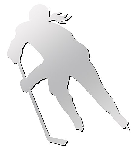 A&R Sports Pro Series Female Hockey Player Magnet/Decal