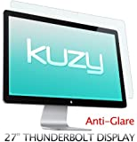 "Kuzy - Anti-Glare Matte Screen Protector Filter for 27 inch Apple Thunderbolt and/or Cinema Display 27"" Model: A1407 & A1316 - ANTI-GLARE"