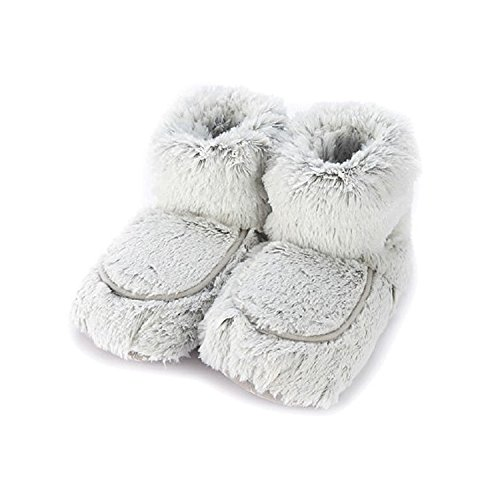 Us Various Grey 90 5 One Slippers ladies Free Microwavable Warmies Marshmallow Up Seconds Womens 9 Size In Boot Warm Colours Of XTxqwwH6