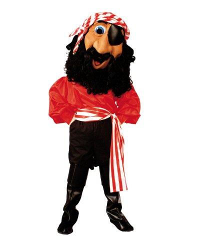 ALINCO Billy Bones Pirate Mascot Costume