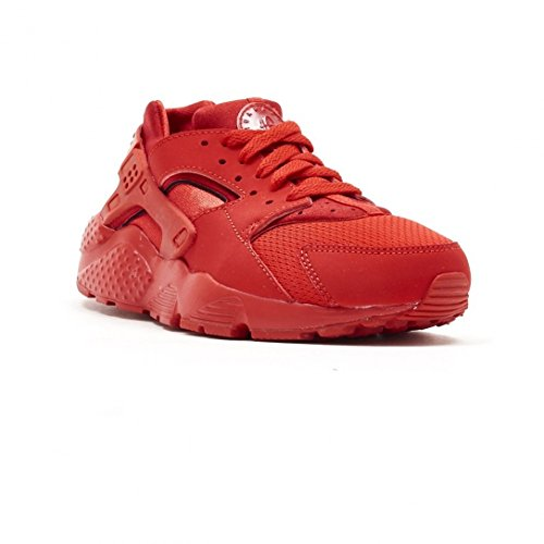 Nike Huarache Little Kid's Running Shoes University Red/University Red 704949-600 (2.5 M US) by Nike (Image #1)