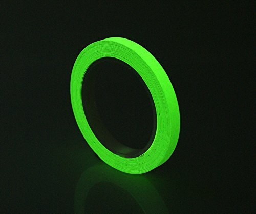"Wholesale Glow in the Dark Short Glow Photoluminescent Egress Tape 1/2"" X 15ft"