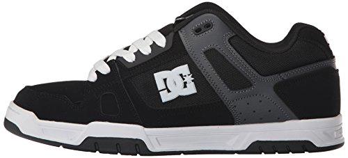 Lace Up Stag Shoes Gris Noir Dc Homme CBHgxqx