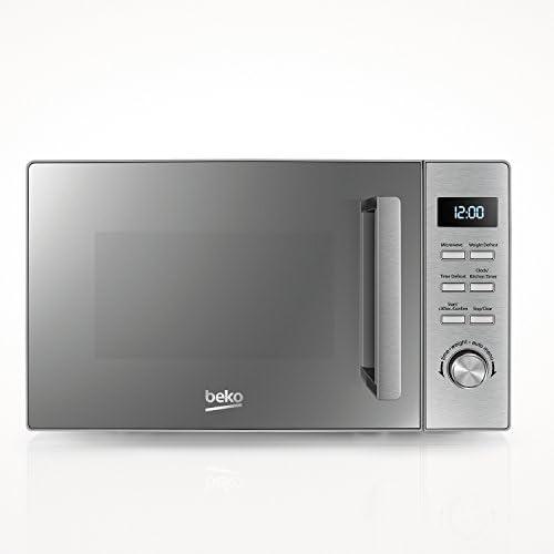 Beko – mof23110ix – Microondas solo 23L 800 W acero inoxidable: Amazon.es: Grandes electrodomésticos