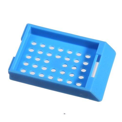 Bio Plas 6034 Blue Acetyl Plastic Histo Plas Capsette Tissue Embedding Cassettes (Pack of 500) (Cassettes Tissue)