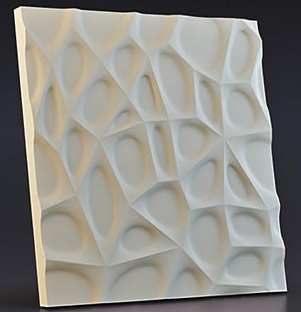 Amazon.com: 3D Wall Panels 1 pcs ABS Plastic mold for Plaster Form ...
