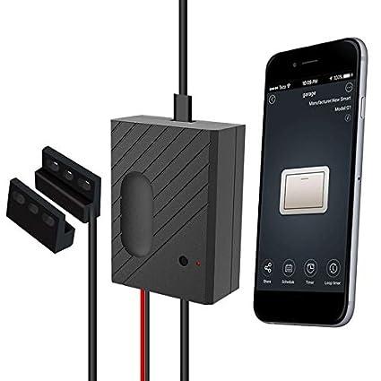 Garage Door Opener App >> Calvas Smart Wifi Switch Garage Door Controller For Garage Door