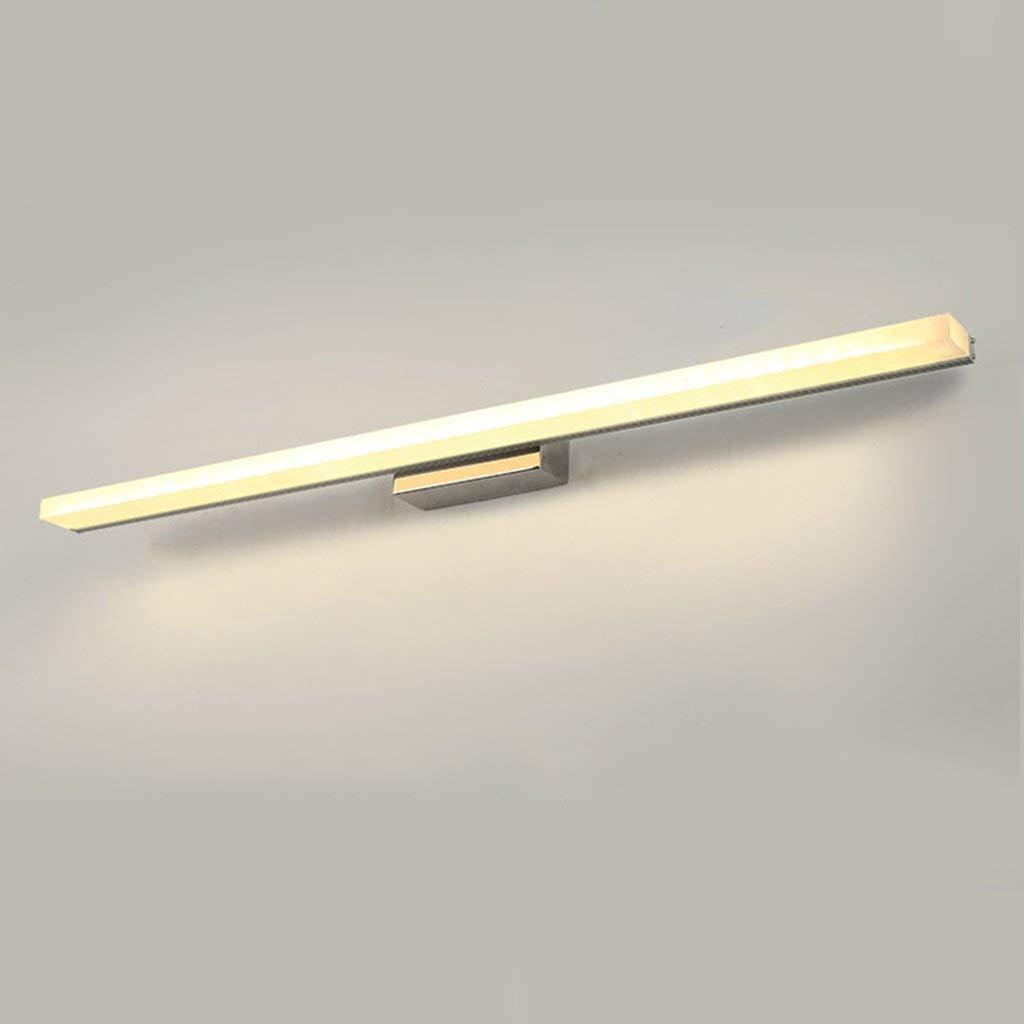 Badezimmerspiegel Beleuchtung LED-Lampe, Make-up-Spiegel vorne Licht Badezimmereitelkeitlichter Portable Kosmetik Schönheit Spiegel vorne Licht (Farbe: warmes Licht-120 CM)