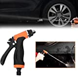 Pindia High Pressure Self-priming Electric Car Wash Washer Washing Machine Cigarette Lighter Water Pump red
