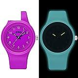 Luminous waterproof watch/Korean version of the simple matching watches-I