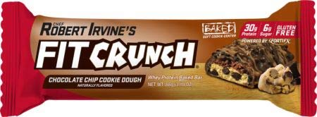 FITCRUNCH Protein Bars | Protein Bar | Designed by Robert Irvine | World's Only 6-Layer Baked Bar | Just 6g of Sugar & Soft Cake Core (12 Bars, Variety Pack) by Fit Crunch (Image #4)