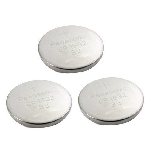 3pcs Panasonic CR1632 CR 1632 3v Coin Lithium Battery, RE...