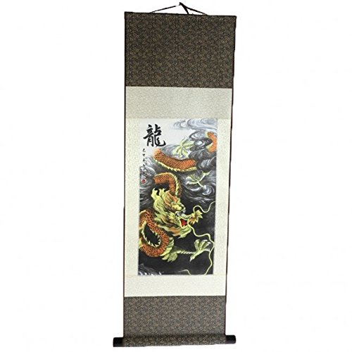 Lachineuse Kakemono Imperial Celestial Dragon for sale  Delivered anywhere in USA