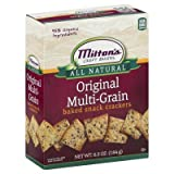 Miltons Cracker Snk Mltigrn 6.5 OZ (Pack of 12)