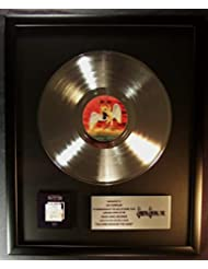 Led Zeppelin The Song Remains The Same LP Platinum Record Award Swan Song Records