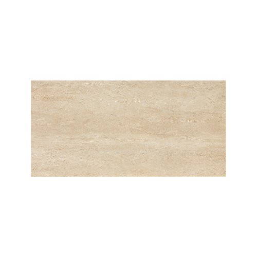 Samson 1036720 Travertini Polished Floor and Wall Tile, 12X24-Inch, Cream, - Slate Tile 24