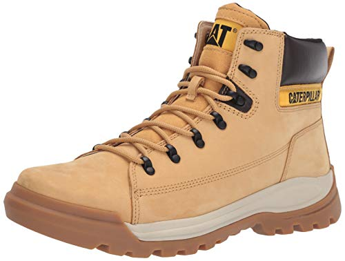 Caterpillar Men's Brawn Industrial Shoe, Honey Reset, 08.5 M US