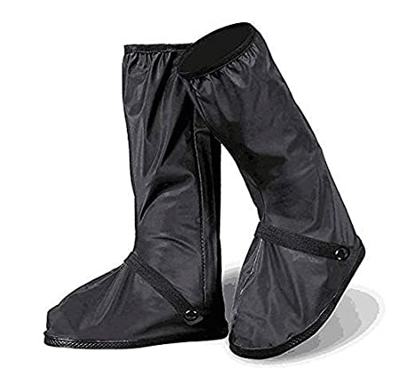 JOYII Ultimate Waterproof Rain Boot Shoe Cover with Reflector-Rainy Day shoes Gear Snow Motorcycle Shoes Cover Outdoor Protective Reusable Boot Cover(XL-32cm)