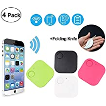 Magneticspace Smart GPS Tracker Finder Locator, Car Phone GPS Tracker Kids Pets Wallet Anti Lost Keys Alarm Locator Anything Finder, Wireless Seeker Anti Lost Sensor for Outdoor Travel Camping